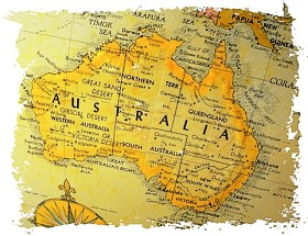 Map Of Australia Facts.Australia Facts And History Landeskunde Englisch