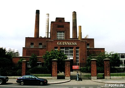 Picture of the Guinness Hopstore
