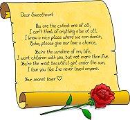 Liebesgedichte auf englisch